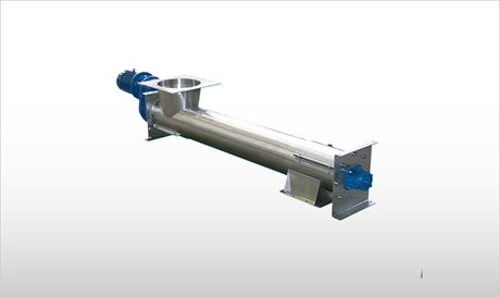 Stainless Steel Tubular Screw Conveyors - TX