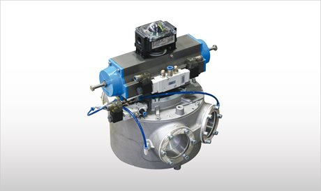 Drum-Type Diverter Valves for Pneumatic Conveying - VAR